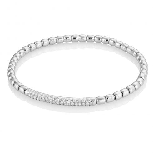 18ct White Gold 0.68ct. Diamond Bracelet
