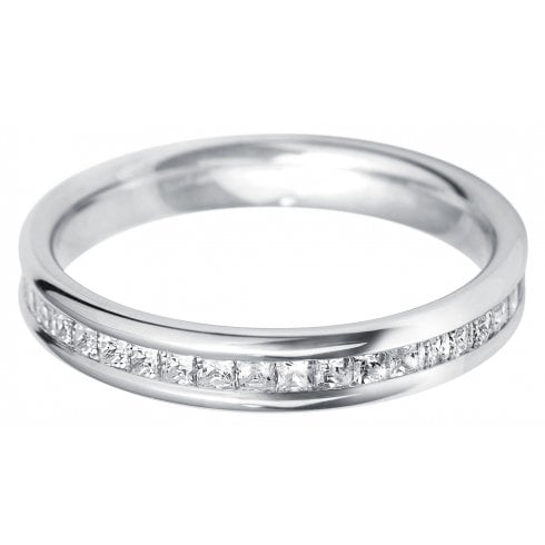 Set And Gold Eternity Ring 18ctWhite Diamond 60Channel qGMLSUzVp