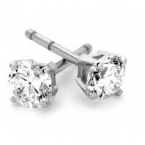 9ct White Gold 0.20ct. Diamond Stud Earrings