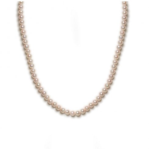 9ct White Gold Akoya Cultured Pearl Strand
