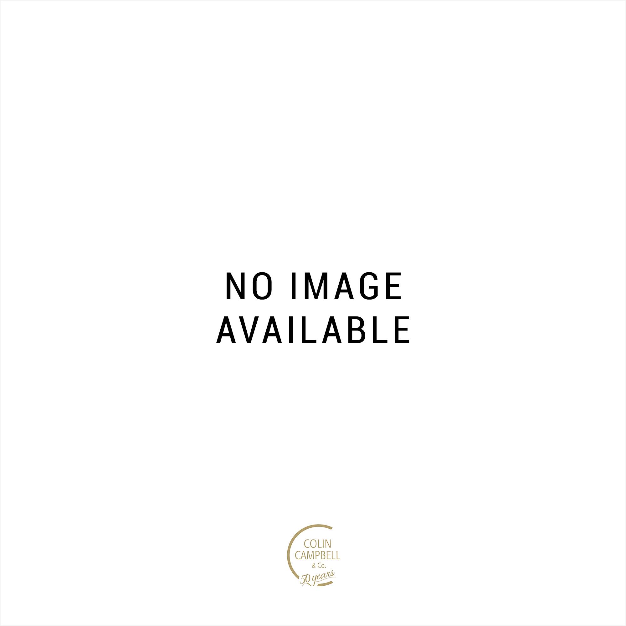 9ct White Gold Blue Topaz & Diamond Cluster Ring