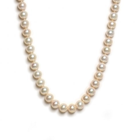 9ct. Yellow Gold Freshwater Cultured Pearl Strand