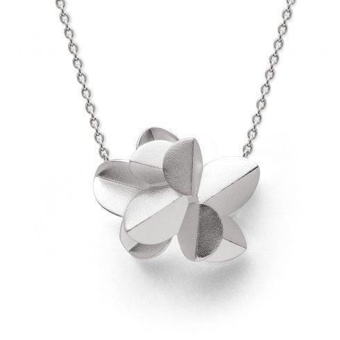 Silver 'Fairytale Leaf' Pendant