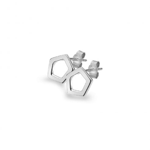 Silver Quinette Earrings