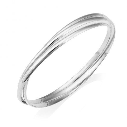Silver Triple Bangle