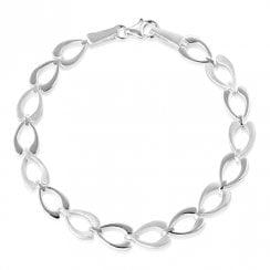 Silver Wishbone Bracelet